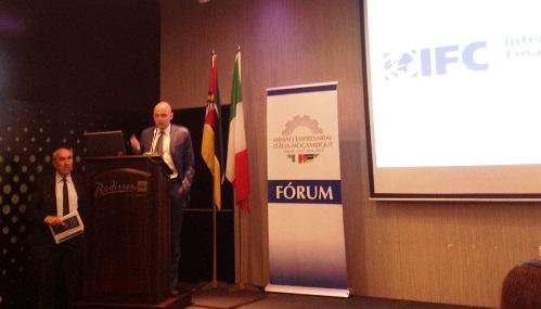 Paolo Signoretti interviene al Forum Istituzionale Italia Mozambico
